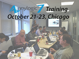 AnyLogic 7 Training in the NEW Chicago Office