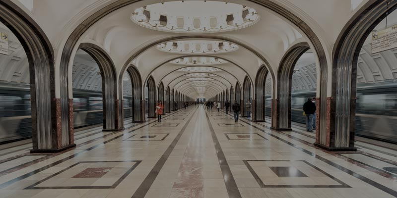 Assessing Moscow Metro Station Blueprint with Crowd Simulation Approach