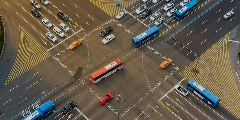Research of Traffic Flow in the Transport Hub of Volokolamskaya in Moscow