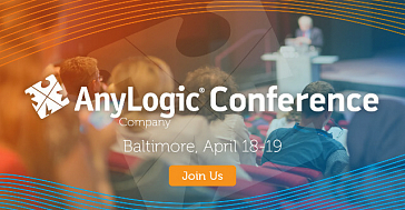 AnyLogic Conference 2018 April 18-19